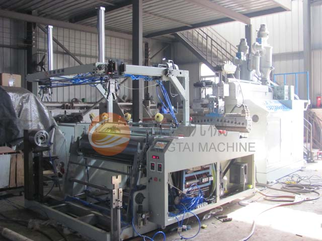 FT-500-1500 Double Layer Co-extrusion Stretch Film Making Machine (Auto Changer)