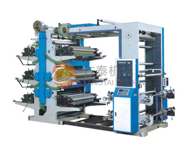 Four Six Color Flexgraphic Printing Machine