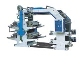 Four Color Flexgraphic Printing Machine