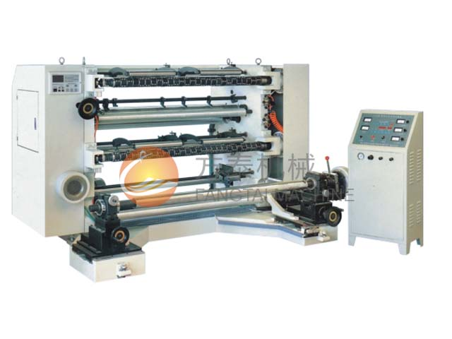 LFQ-B Vertical Automatic Slitting and Rewinding Machine
