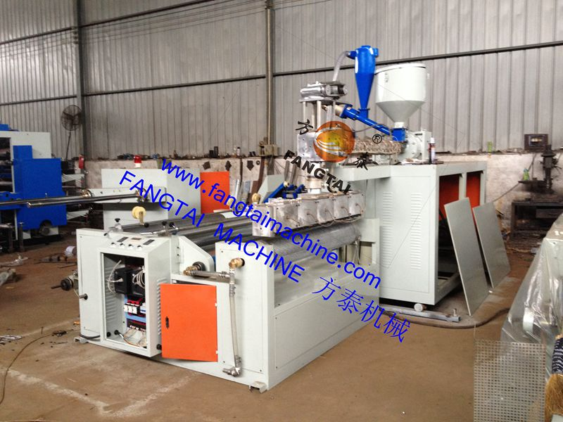 FTPE-600-2500 Bubble film making machine (one extruder) 2layer film