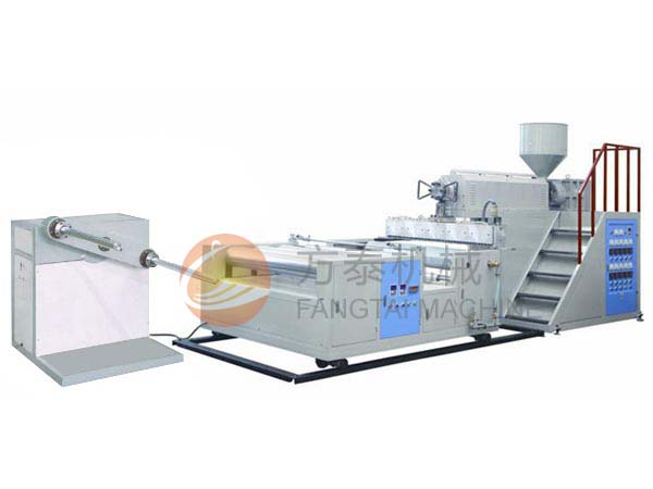 FTPEI-600-2500 Bubble Film Machine (one extruder) 2 layer film