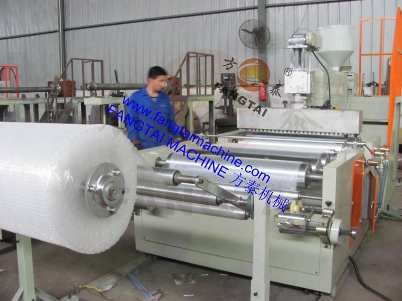 FTPEI-1200-1300 Bubble film machine (one extruder) 2 layer film